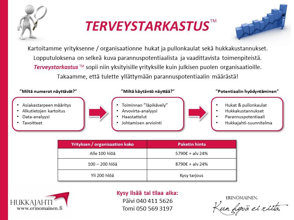 Terveystarkastus - Erinomainen.fi